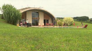 Une maison dôme construite par Natura Dream. (France 3 Toulouse)