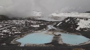 En Islande, entre glaciers et volcans, les sources d'eau chaudereprésentent une énergieconsidérable. (CAPTURE ECRAN FRANCE 2)