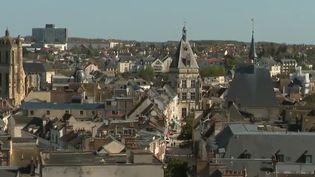 Ville de Chartres dans l'Eure-et-Loir (FRANCE 2)