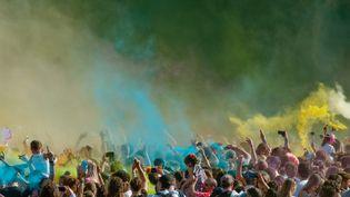 La 19e édition du festival Solidays se tient cette année du 23 au 25 juin à l'hippodrome de Longchamp. (SAMUEL DIETZ / MAXPPP)