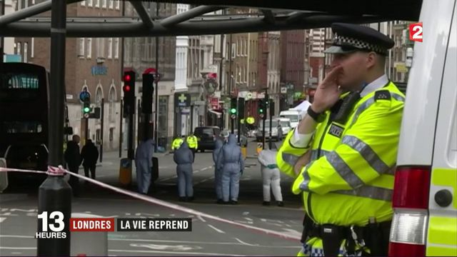Attaque de Londres : la vie reprend dans la capitale britannique