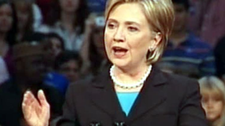 Hillary Clinton (image d'archives) (France 3)