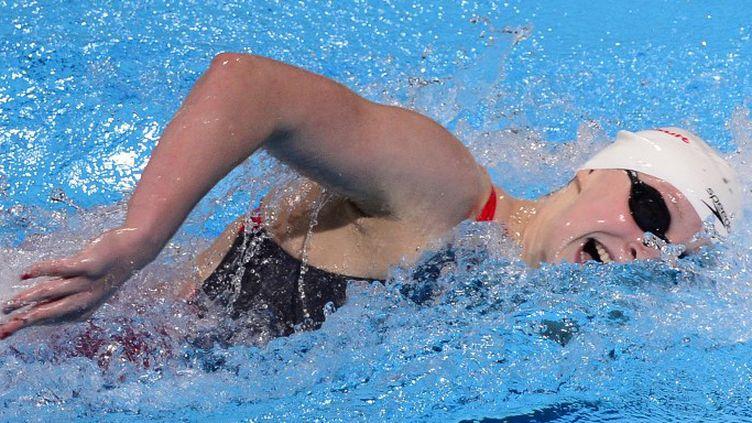Katie Ledecky championne du monde du 400m (LLUIS GENE / AFP)