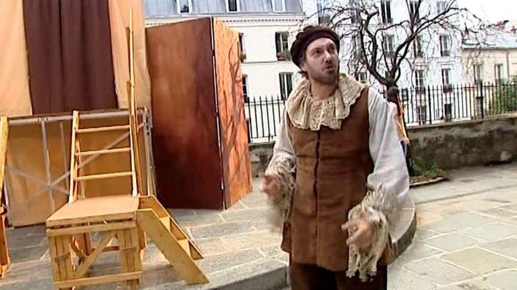Pendant les répétitions  (France3 Culturebox)
