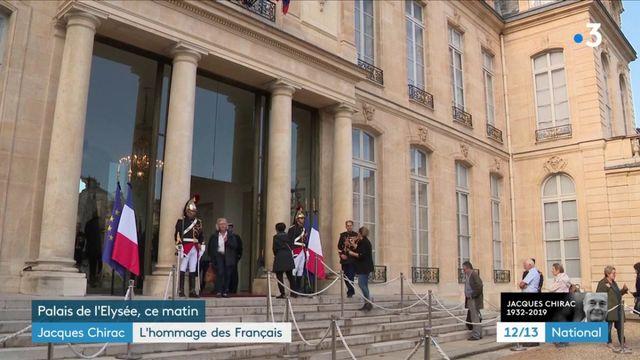 Décès de Jacques Chirac : des registres de condoléances ouverts à Paris