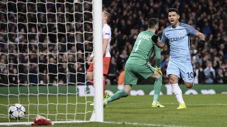 Agüero (Manchester City) (OLI SCARFF / AFP)