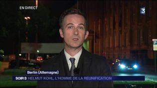 Amaury Guibert, correspondant de France Télévisions à Berlin. (FRANCE 3)