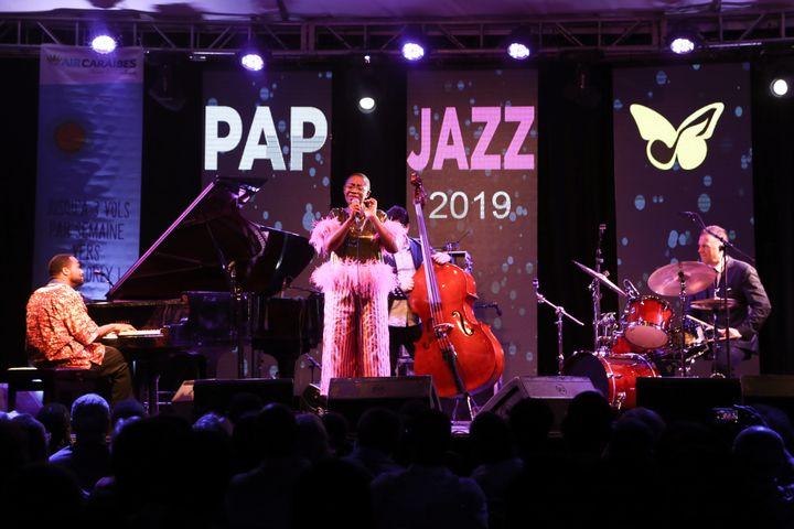 Une image du festival PAP Jazz 2019.Répartis dans 12 lieux différents, 85% des 40 concerts sont gratuits (Photo JOSUE AZOR)