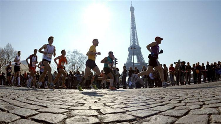Le cadre prestigieux du marathon de Paris