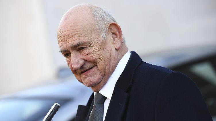 L'ancien président de la Fédération française de rugby, Pierre Camou, photographié à Paris le 3 décembre 2016. (FRANCK FIFE / AFP)