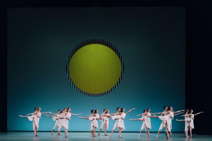"""""""Daphnis et Chloé"""" de Benjamin Millepied  (Little Shao / Opéra national de Paris)"""