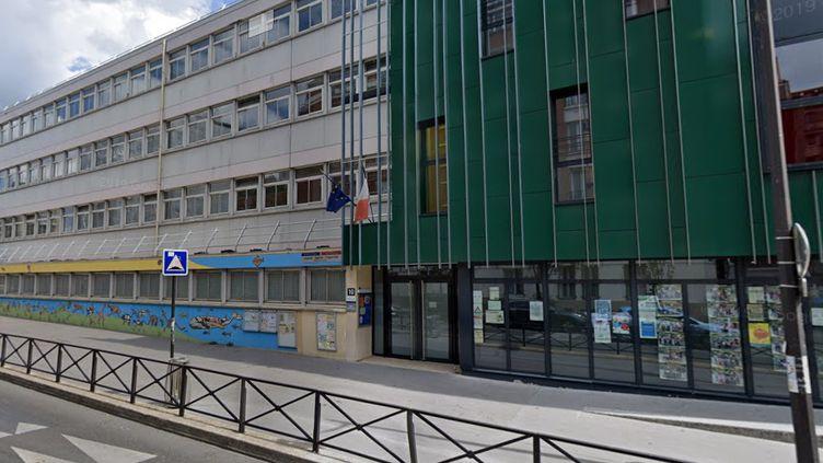 L'école parisienne Lamoricière a fermé ses portes, mardi 23 juin, après la confirmation de trois cas de Covid-19. (GOOGLE STREET VIEW)