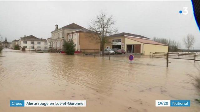 Intempéries dans le Sud-Ouest : des communes du Lot-et-Garonne dans la panade