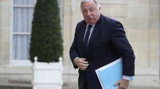 Le président (LR) du Sénat, Gérard Larcher, arrive à l'Elysée à Paris, le 2 juillet 2020. (LUDOVIC MARIN / AFP)