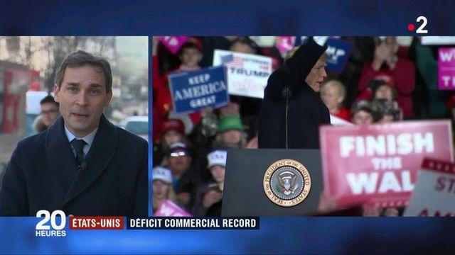 États-Unis : un déficit commercial record