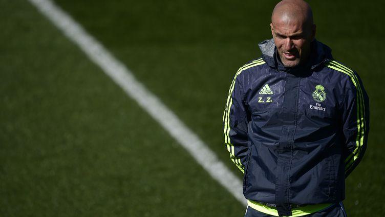 Zinédine Zidane. (PIERRE-PHILIPPE MARCOU / AFP)