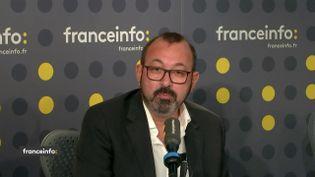Dominique Tiger,secrétaire général de l'association des contribuables de Levallois-Perret, était l'invité de franceinfo vendredi 18 octobre 2019. (FRANCEINFO / RADIO FRANCE)