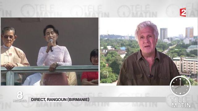 Birmanie : Aung San Suu Kyi victorieuse