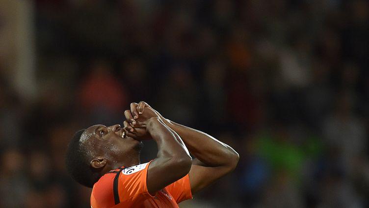 Benjamin Moukandjo a délivré Lorient  (LOIC VENANCE / AFP)