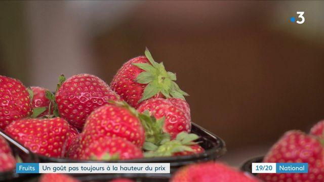 Fruits : un goût pas toujours à la hauteur des prix