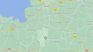 Le jeune Dewi, âgé de 8 ans, et son père, qui l'avait enlevé le 30 juillet 2021, ont été retrouvés àPlouaret (Côtes-d'Armor), le 31 juillet 2021. (GOOGLE MAPS)