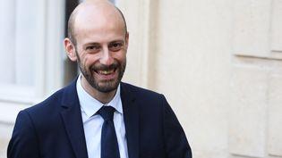 Stanislas Guérini, à l'Elysée, le 17 décembre à Paris. (LUDOVIC MARIN / AFP)