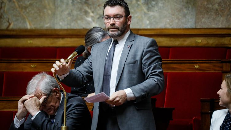 Christophe Euzet à l'Assemblée nationale en octobre 2019. (THOMAS PADILLA / MAXPPP)