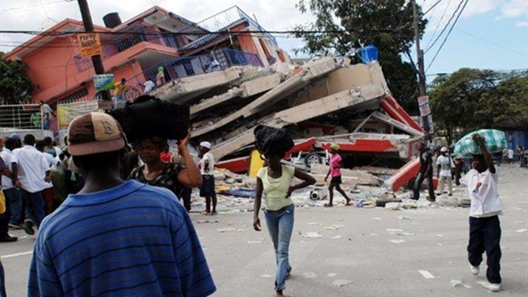 Le séisme à Haïti en janvier 2010 a fait plus de 220.000 morts (AFP/Thony BELIZAIRE)