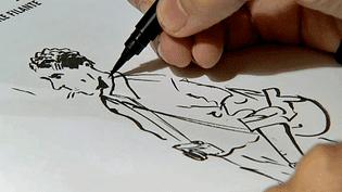 """""""Capa l'étoile filante"""" chez Casterman le biopic de Florent Silloray retrace la vie du photoreporteren bande dessinée  (France 3 / Culturebox)"""