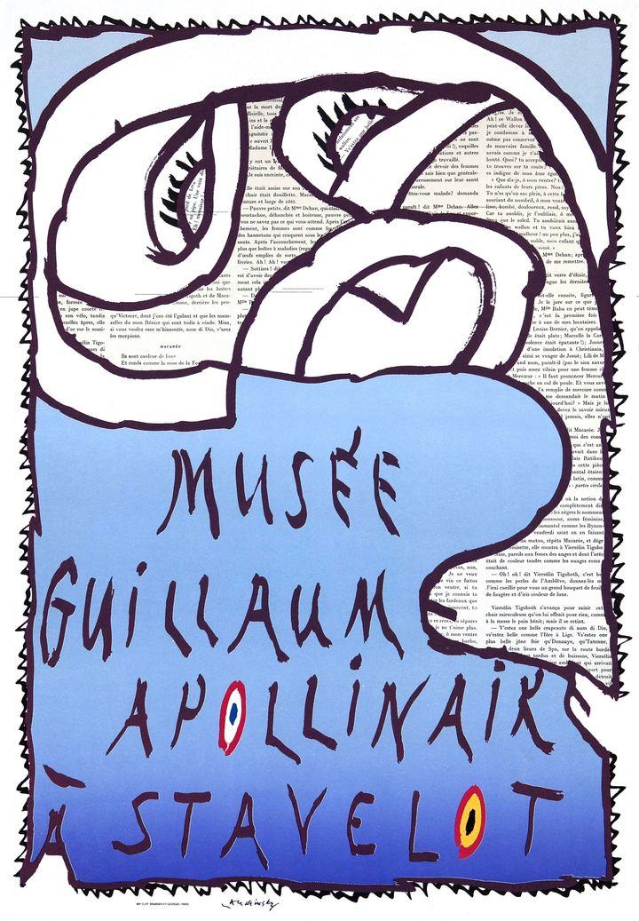Affiche de Pierre Alechinsky (Michel Nguyen)