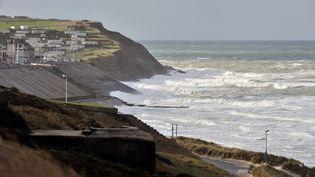 Le littoral de Boulogne-sur-Mer dans le Pas-de-Calais, le 3 novembre 2013. Illustration. (PHILIPPE HUGUEN / AFP)
