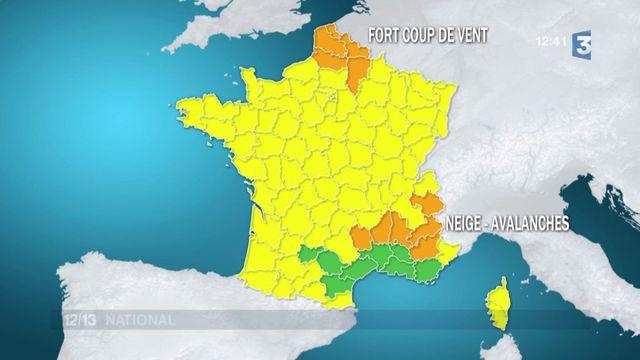 Météo : la France en proie aux intempéries