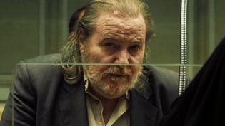 Jacques Rançon, le 26 mars 2018, lors de son procès pour le meurtre de deux femmes à Perpignan, en 1997 et 1998. (RAYMOND ROIG / AFP)