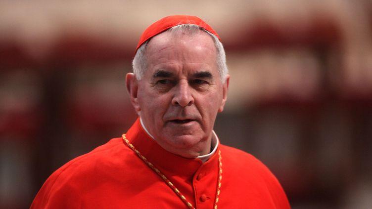 Le cardinal Keith O'Brien assiste à une messe du pape Benoît XVI le 19 février 2012 au Vatican(Rome). (FRANCO ORIGLIA / GETTY IMAGES)