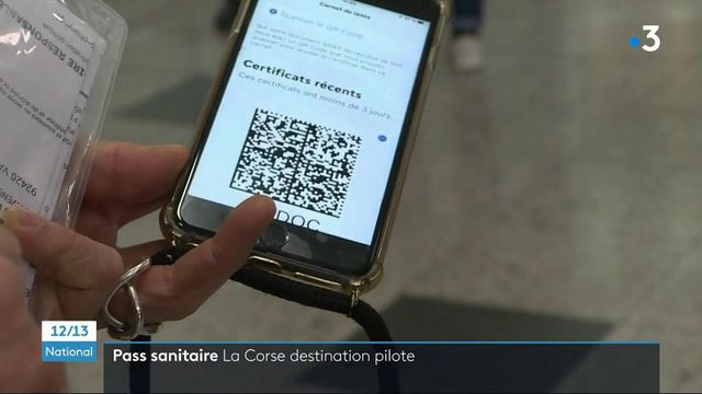 Covid-19 : la Corse teste le passeport sanitaire dans les aéroports