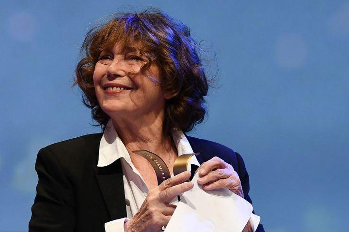 Jane Birkin aà la 24e cérémonie des Lumières (janvier 2019)  (Anne-Christine POUJOULAT / AFP)