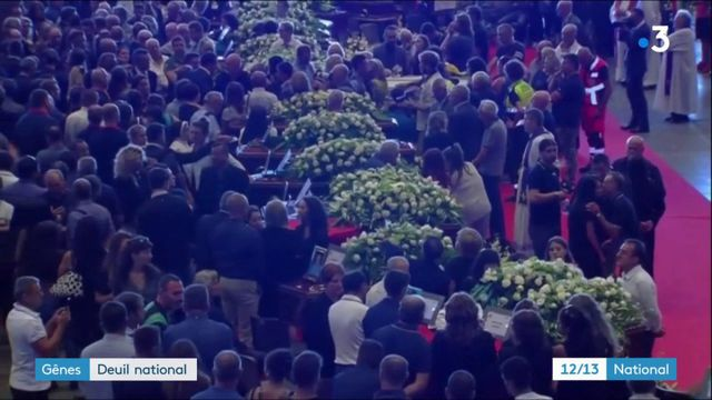 Viaduc de Gênes : journée de deuil national en Italie