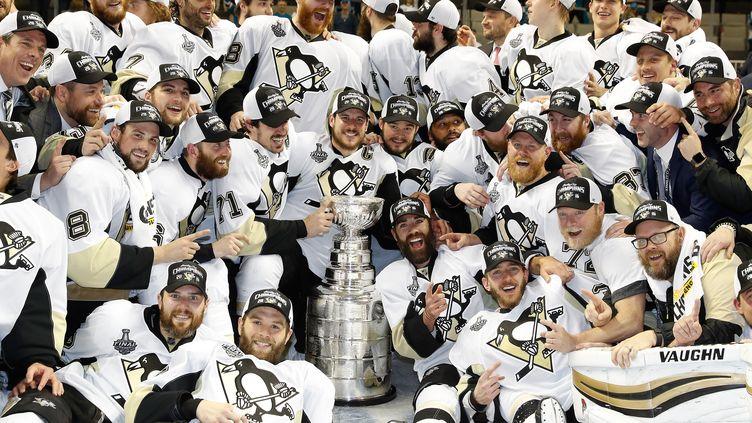 Les joueurs de Pittsburgh ont remporté le titre en NHL (CHRISTIAN PETERSEN / GETTY IMAGES NORTH AMERICA)