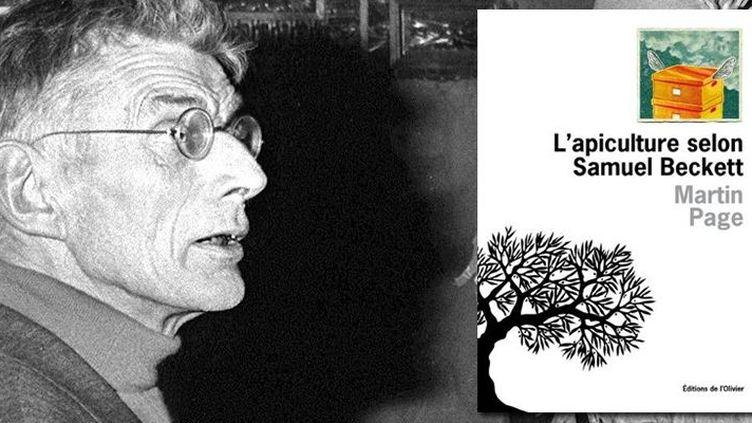 """""""L'apiculture selon Samuel Beckett"""" : Martin Page imagine un Beckett excentrique  (STAFF / AFP)"""