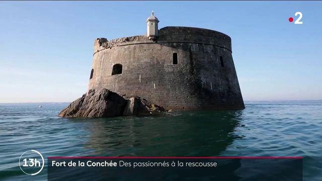 Saint-Malo : le Fort de la Conchée restauré par des passionnés depuis plus de 30 ans