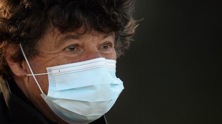 Jean Le Cam, le 8 novembre 2020. (JEAN-FRANCOIS MONIER / AFP)
