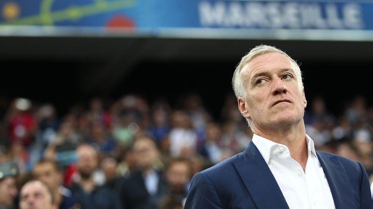 Didier Deschamps, sélectionneur des Bleus qualifiés pour les 8es de finale de l'Euro 2016 (MICHAEL ZEMANEK / BACKPAGE IMAGES LTD)