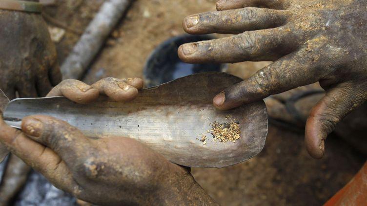 Chercheurs d'or au Sahel, une activité incertaine. (Luc Gnago/ Reuters)