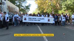 Une marche blanche pour Kewi, tué aux Lilas (Seine-Saint-Denis) (FRANCEINFO)