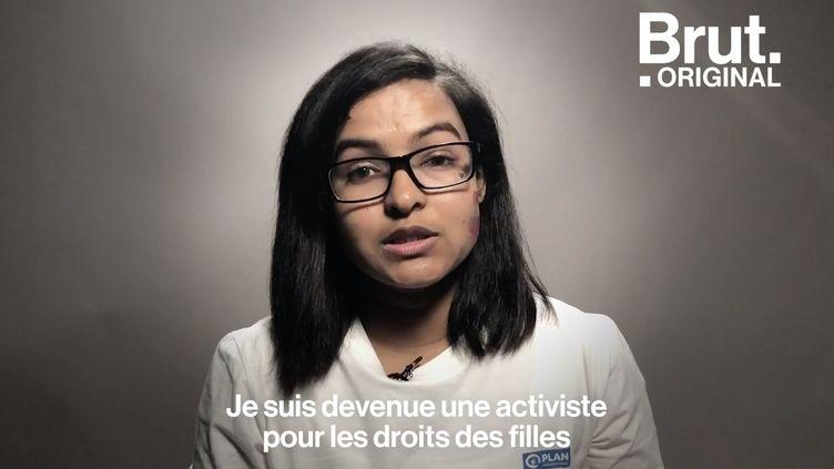 """VIDEO. """"Mon père nous a abandonnées parce que j'étais une fille """" : Binita est activiste pour le droit des femmes au Népal (BRUT)"""