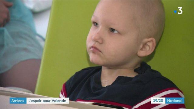 Cancer : de l'espoir pour le petit Valentin