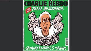 """Capture d'écran de la couverture de """"Charlie Hebdo"""" à paraître le 26 décembre 2018. (DR)"""