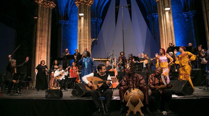 """""""Les routes de l'esclavage"""", Festival """"Musique et Histoire"""", concert du 17 juillet.  (Claire Xavier)"""