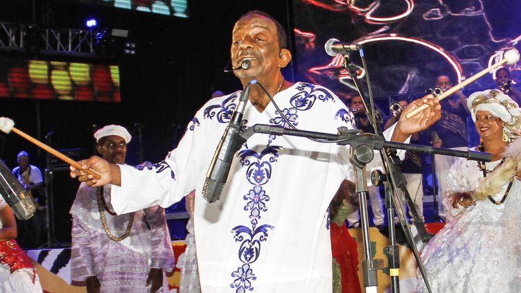 Le percussionniste brésilien Nana Vasconcelos est mort à 71 ans  (JEAN NUNES / BRAZIL PHOTO PRESS)