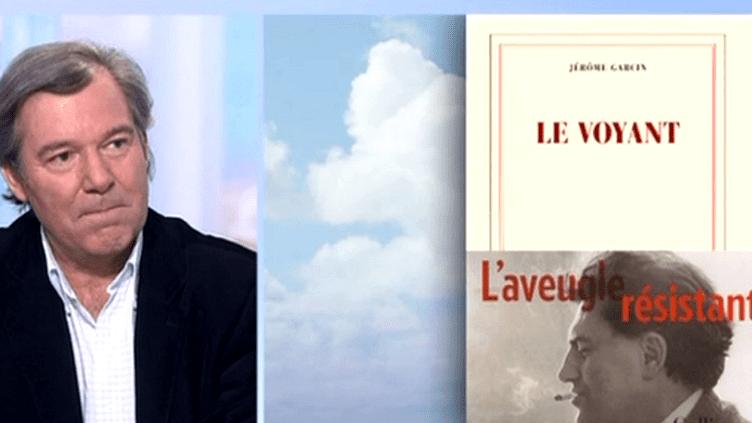 """Jérôme Garcin, auteur de """"Le Voyant""""  (France 2 )"""